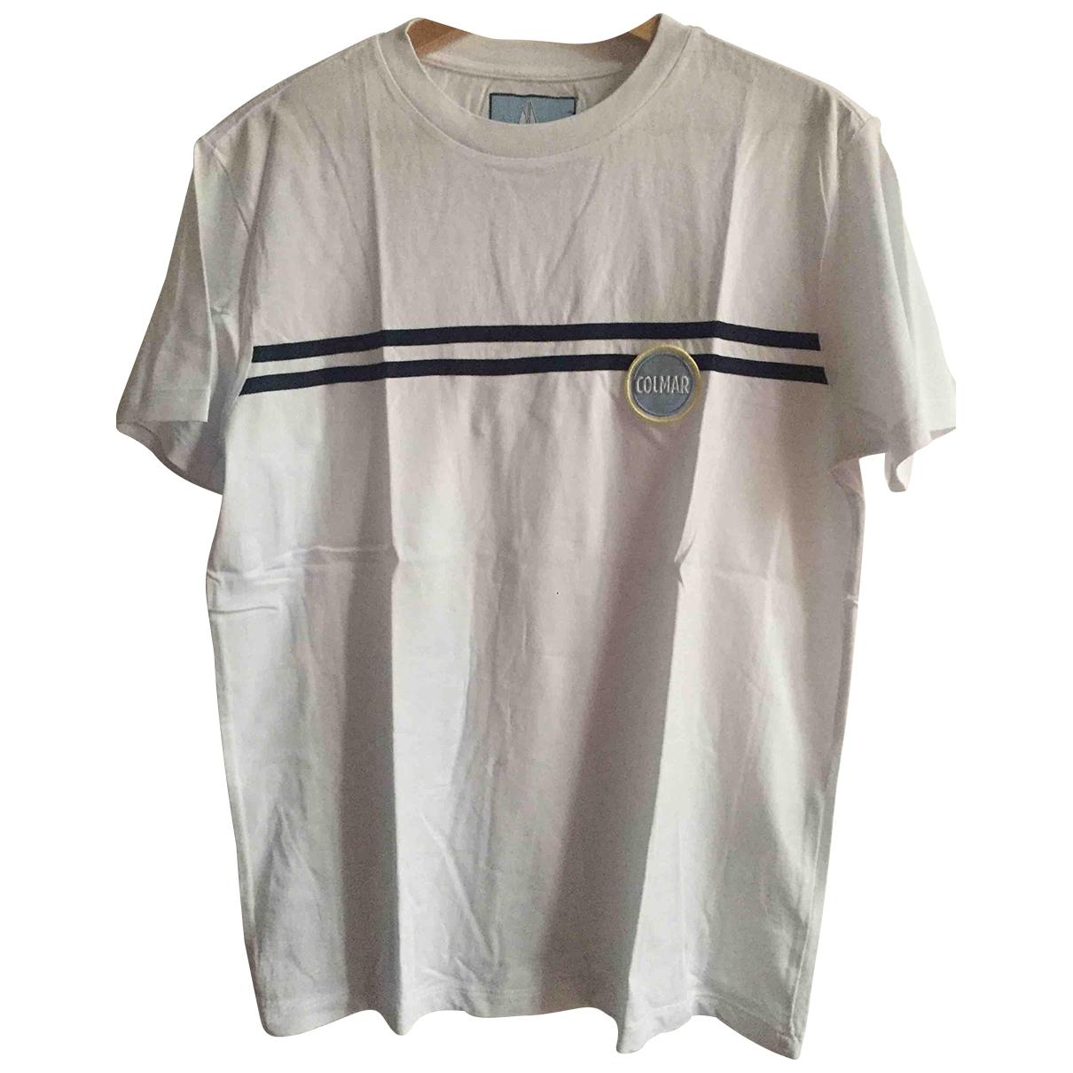 Colmar \N T-Shirts in  Weiss Baumwolle