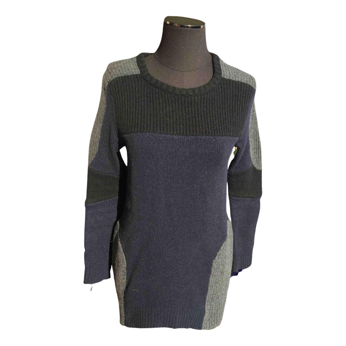 Claudie Pierlot - Pull Spring Summer 2020 pour femme en laine - bleu
