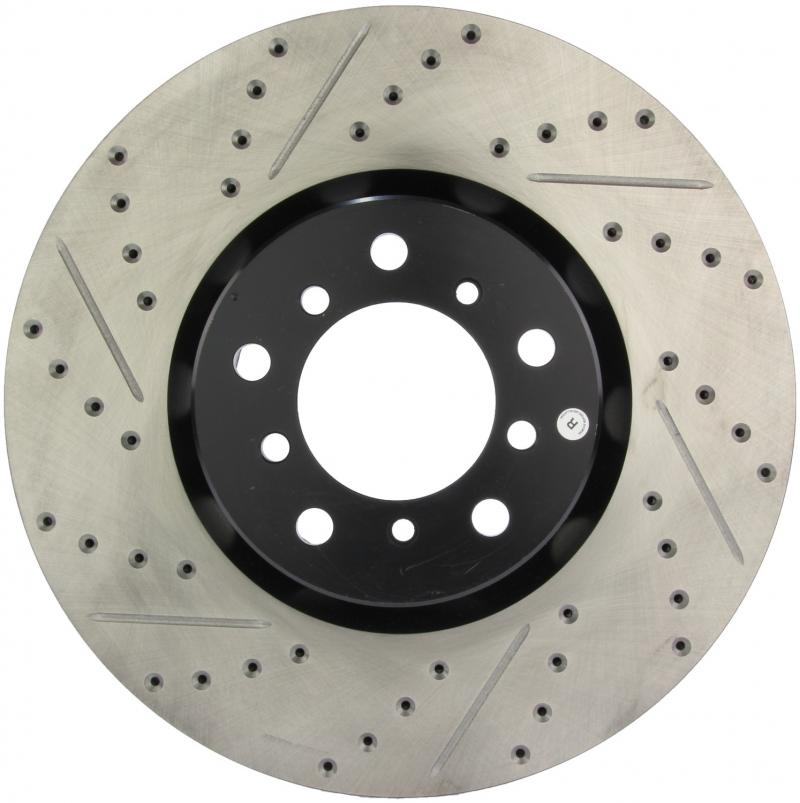 StopTech 127.34063R Sport Drilled/Slotted Brake Rotor; Front Right BMW M5 Front Right 2000-2003