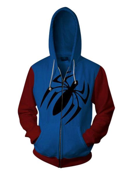 Milanoo Marvel Comics Venom Spider Man Halloween Cosplay Hoodie