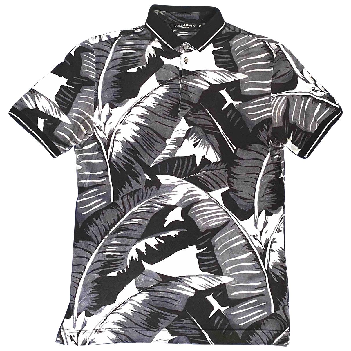 Dolce & Gabbana \N Poloshirts in  Marine Baumwolle