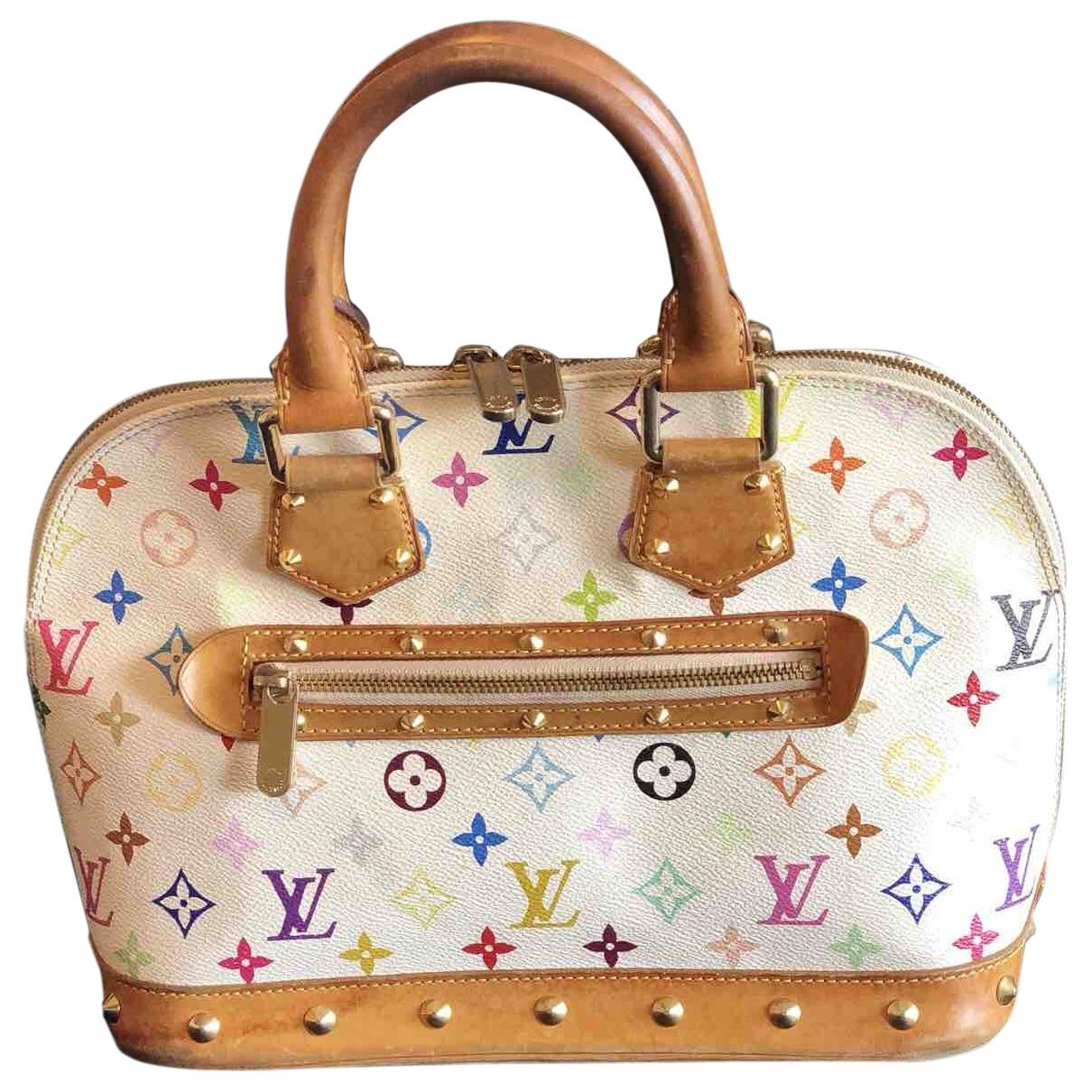 Louis Vuitton Alma Multicolour Cloth handbag for Women \N