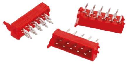 Wurth Elektronik , WR-MM, 4 Way, 2 Row, Straight PCB Header (5)
