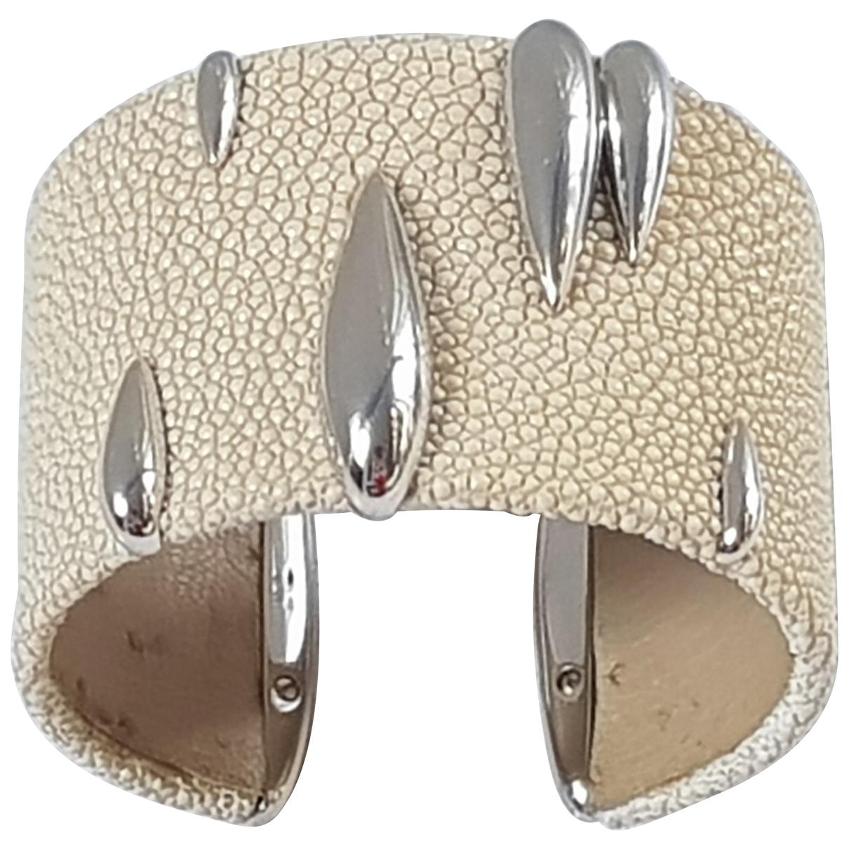 De Grisogono \N Beige White gold bracelet for Women \N