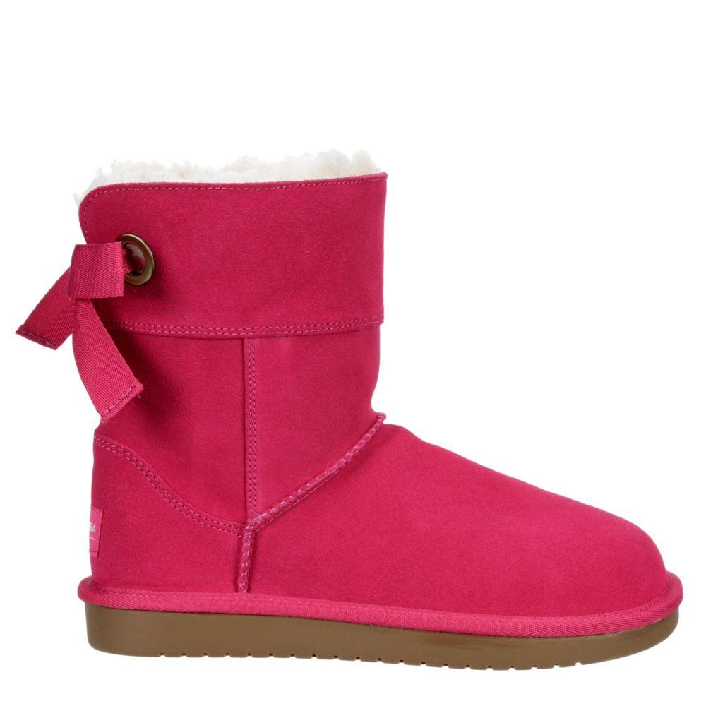 Koolaburra By Ugg Girls Andrah Short Cozy Boot