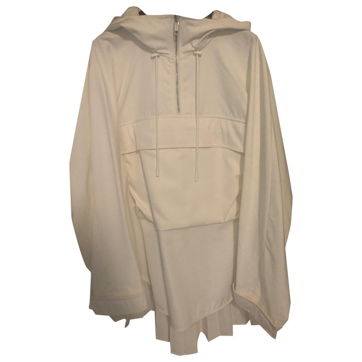 Sport Max \N Trench in  Weiss Polyester