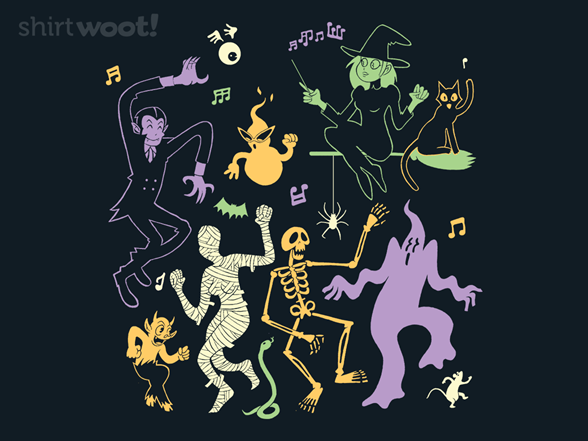 Haunted Party T Shirt