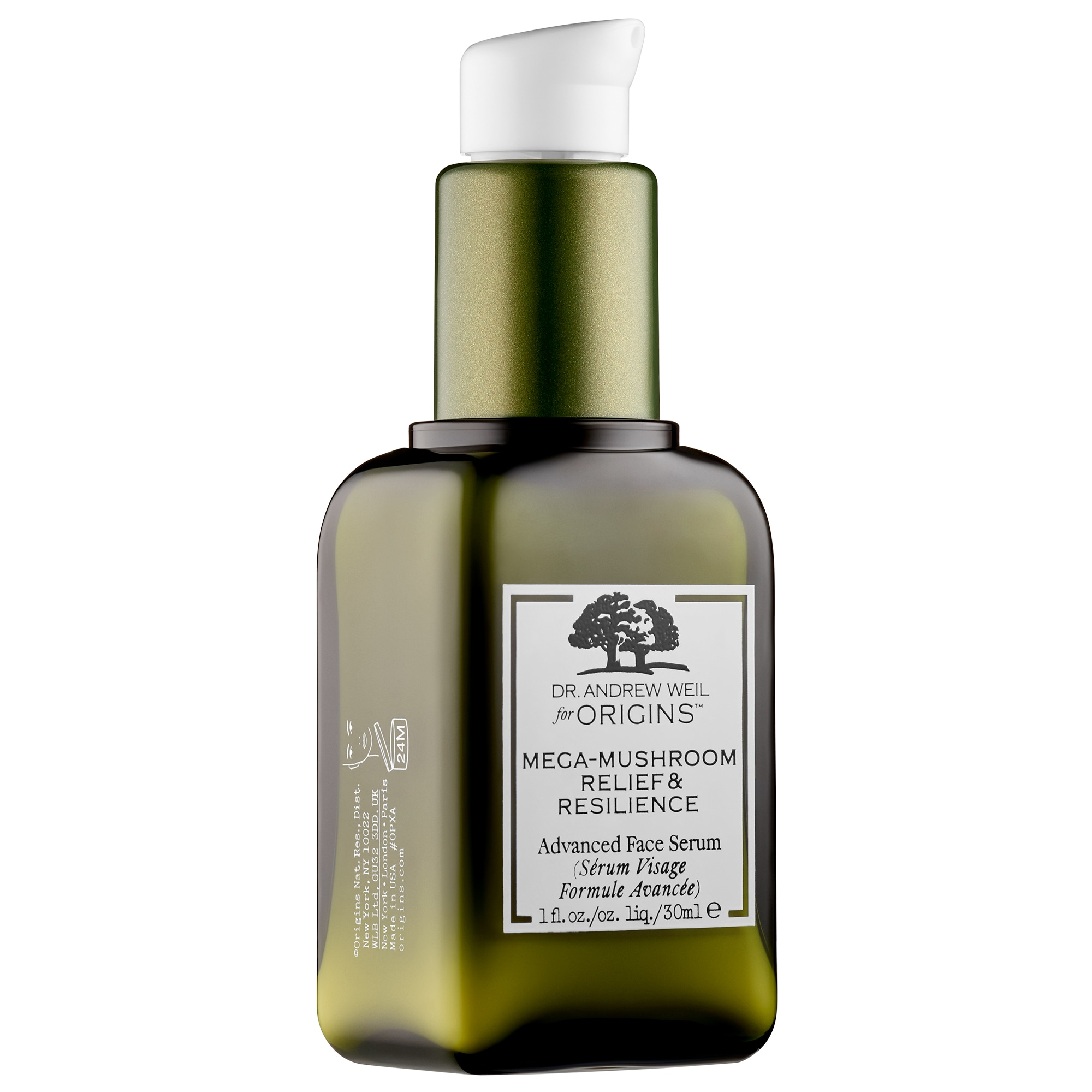Dr. Andrew Mega-mushroom Skin Relief & Resilience Advanced Face Serum - 3.4oz