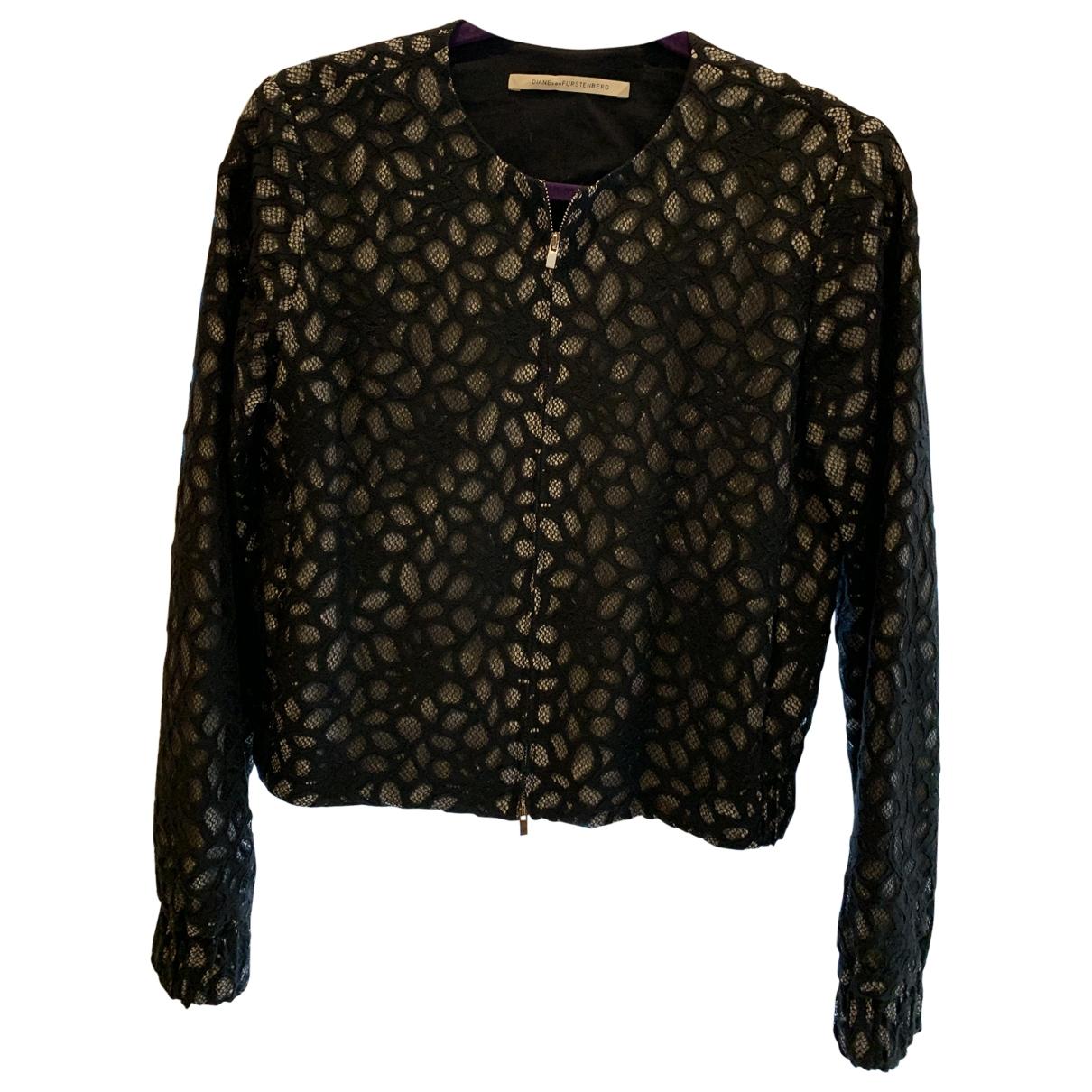 Diane Von Furstenberg - Veste   pour femme en coton - noir