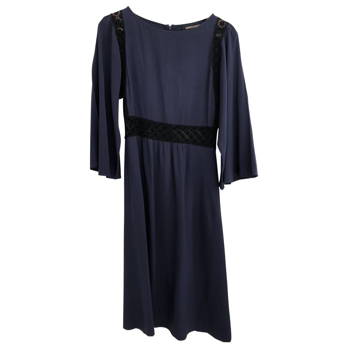 Vestido midi de Seda Vanessa Seward