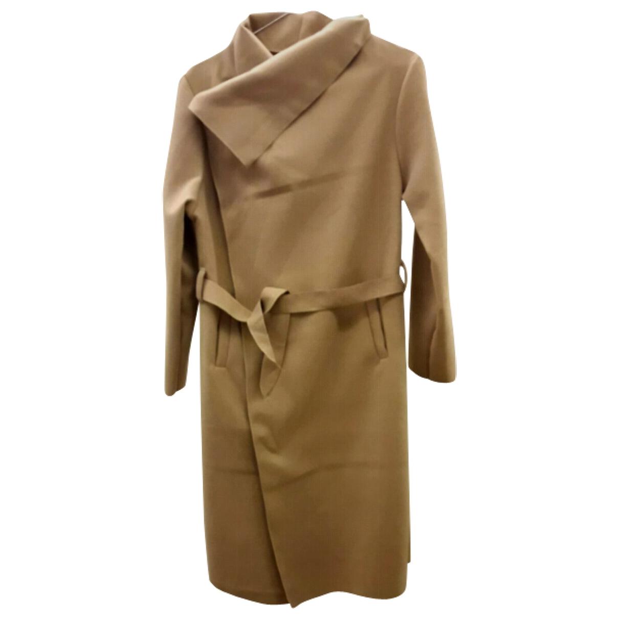 Non Signé / Unsigned \N Beige Cotton coat for Women L International