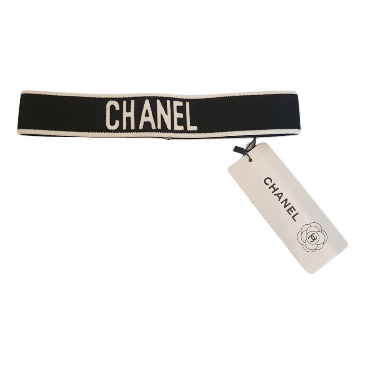 Chanel CHANEL Haarschmuck in  Schwarz Leinen