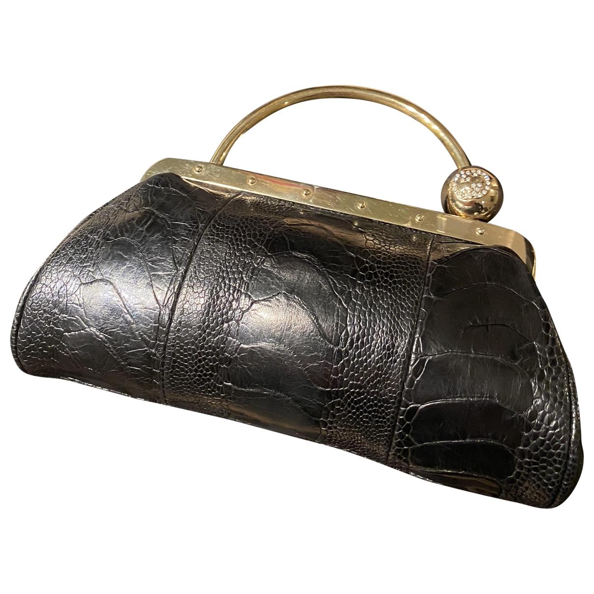 Gucci - Pochette   pour femme en alligator - noir