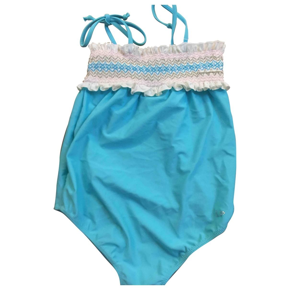 La Perla - Short   pour enfant en coton - turquoise