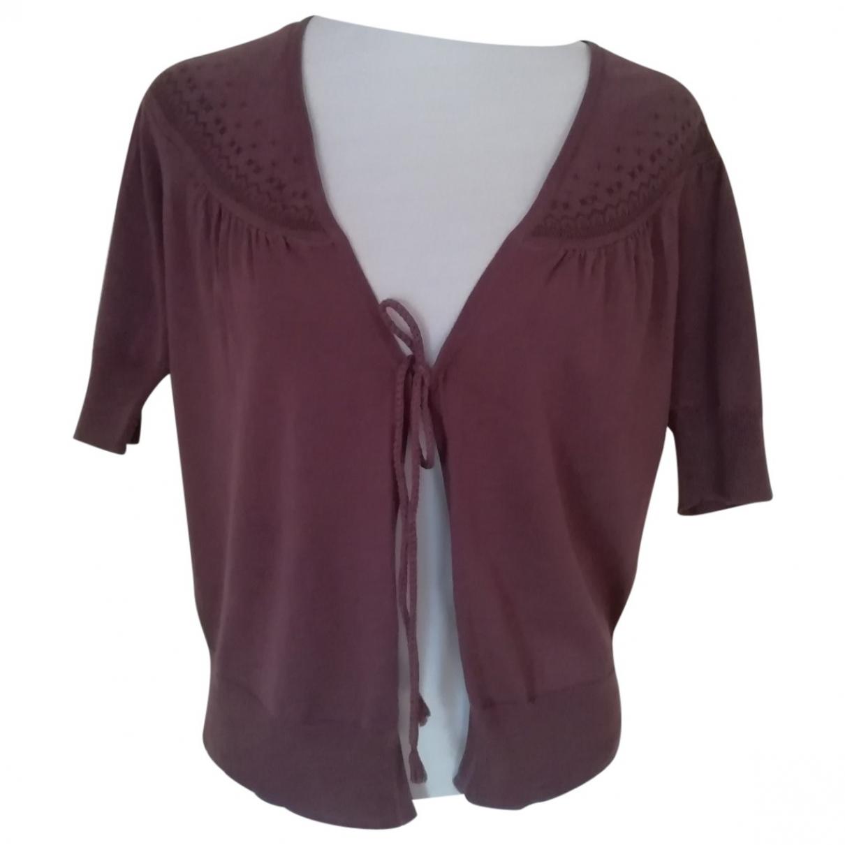 Comptoir Des Cotonniers N Burgundy Cotton jacket for Women 36 FR