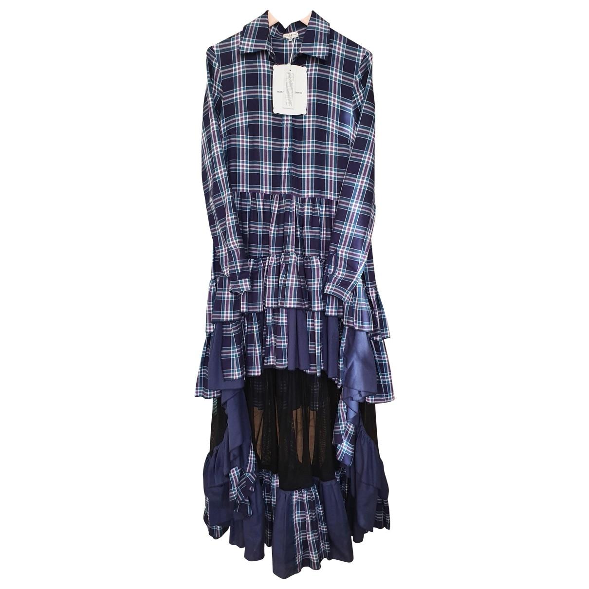 Natasha Zinko \N Kleid in  Blau Baumwolle