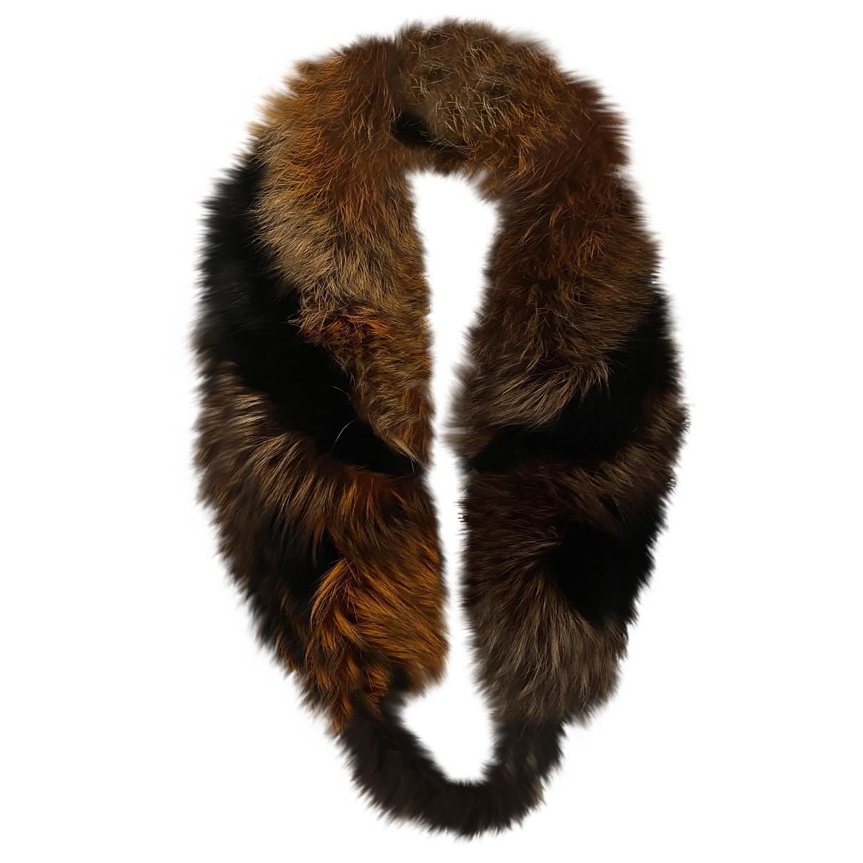 Roberto Cavalli \N Multicolour Fox scarf for Women \N