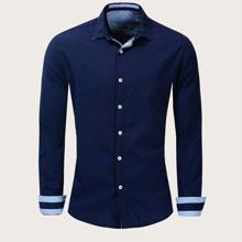Men Button Front Shirt