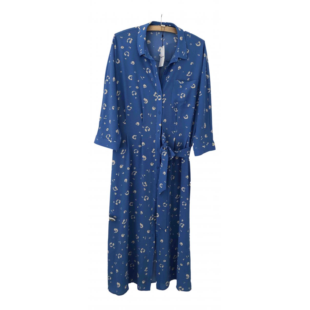 Whistles \N Kleid in  Blau Polyester