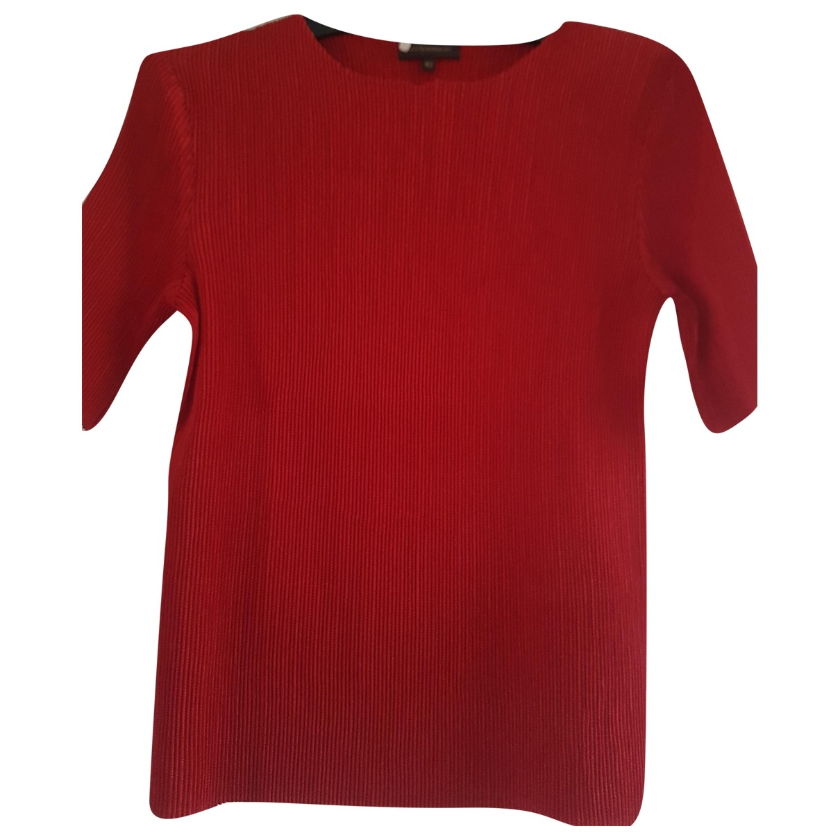 Adolfo Dominguez \N Red  top for Women 42 FR