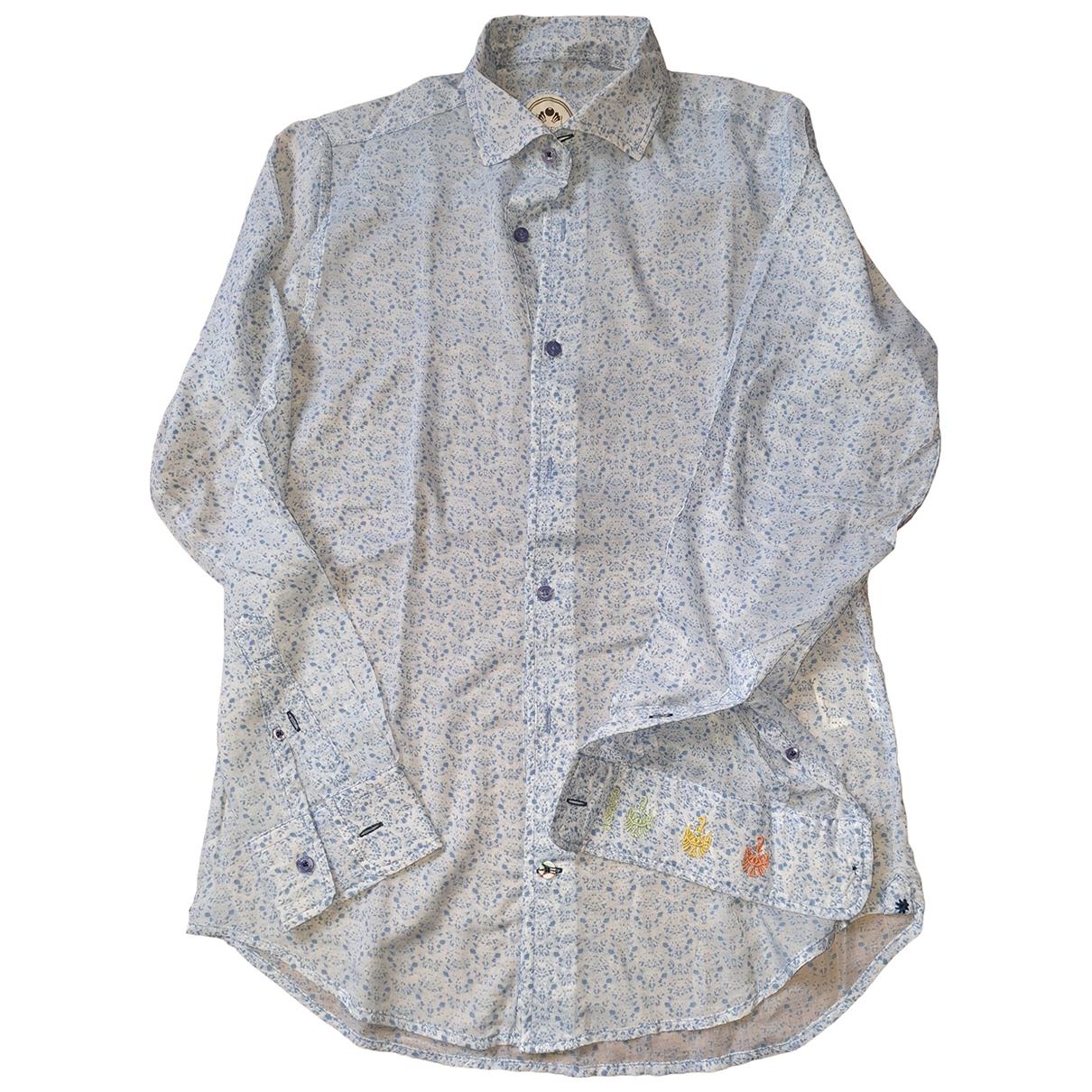 Non Signé / Unsigned \N Cotton Shirts for Men 39 EU (tour de cou / collar)