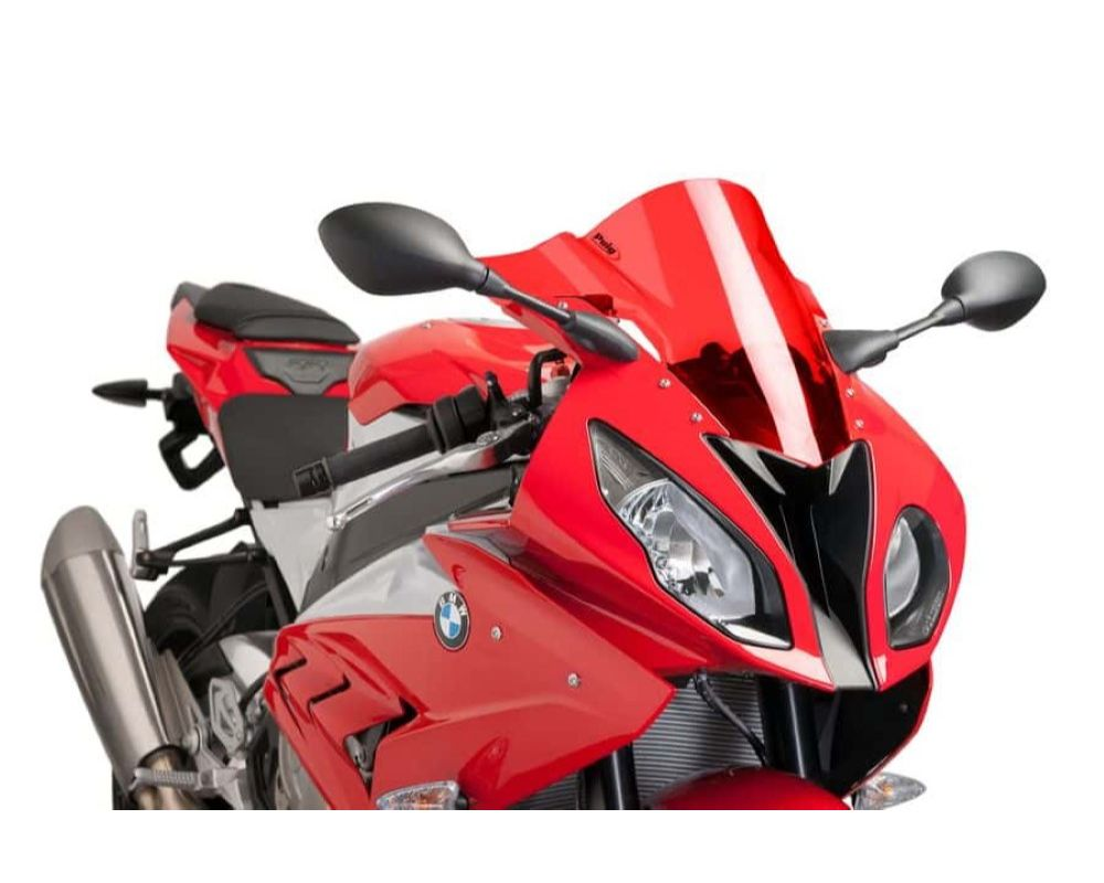 Puig 7564R Z-Racing Windscreen - Red BMW S1000RR 2015