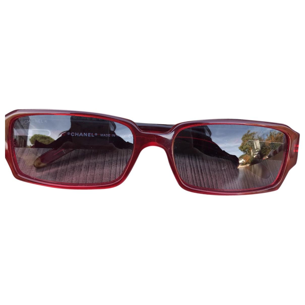 Chanel \N Sonnenbrillen Rot