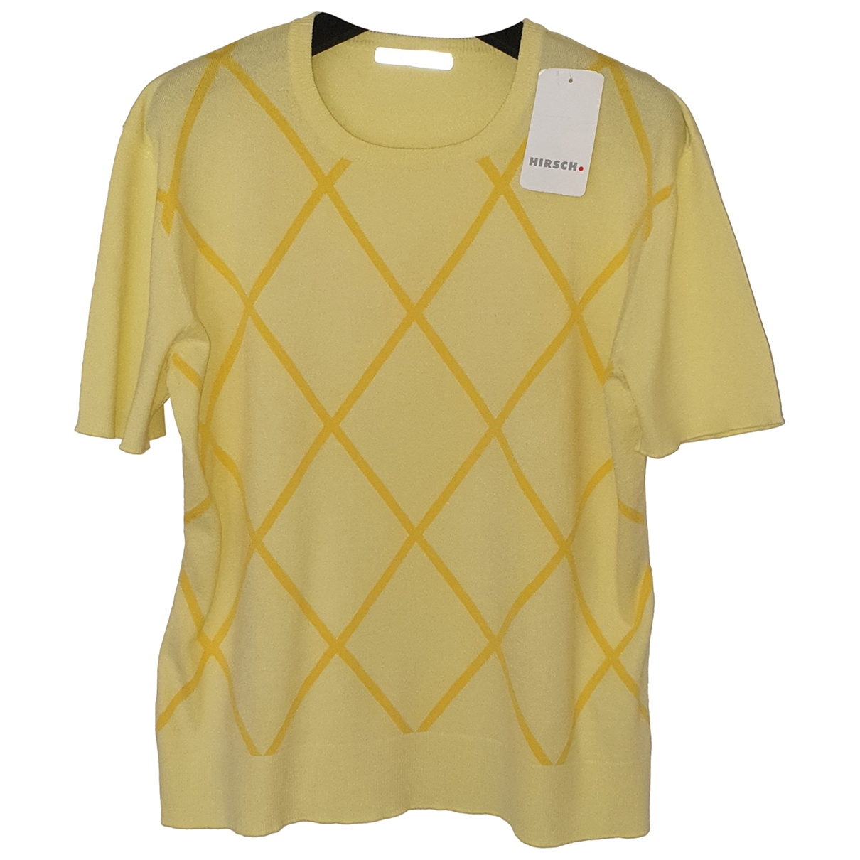 Non Signé / Unsigned \N Yellow  top for Women 44 FR