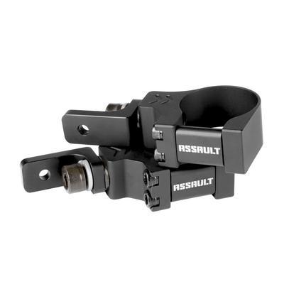 Assault Industries 90 Degree Top Tube Light Bar Mount Brackets - 1.5