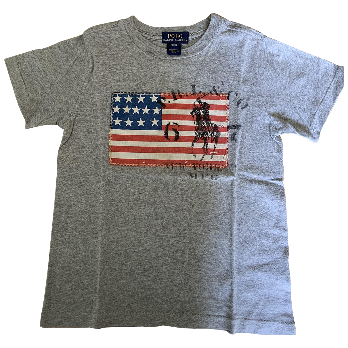 Polo Ralph Lauren \N Grey Cotton  top for Kids 4 years - up to 102cm FR