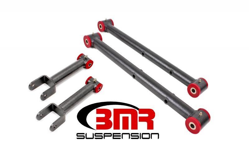 BMR Suspension RSK011H Polyurethane Rear Suspension Kit Non-adjustable Black Buick Skylark | Chevrolet Malibu | Oldsmobile Cutlass | Pontiac GTO 68-72
