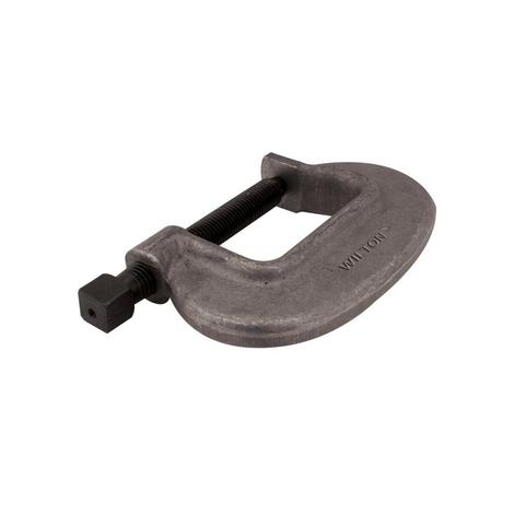 Wilton O Series Bridge C-Clamp - Full Closing Spindle, 0 In. to 1-7/16 In. Jaw Opening, 1-1/8 In. Throat Depth