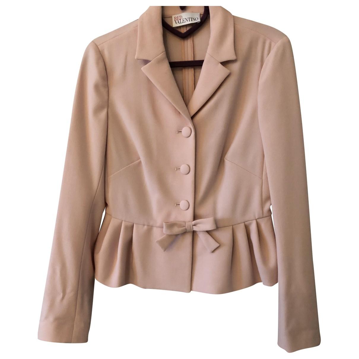 Red Valentino Garavani \N Pink jacket for Women 40 IT