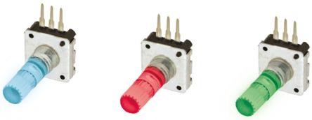TE Connectivity Incremental Encoder  DPL12SH2424A25K1 24 ppr 60rpm Solid 5 V dc