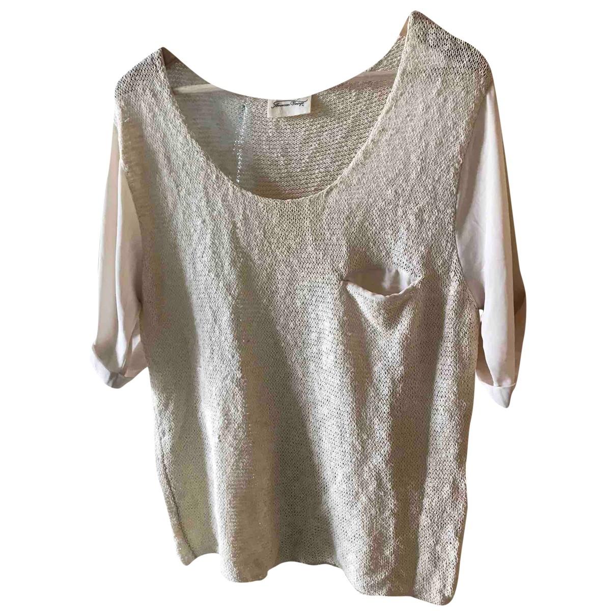 American Vintage \N Beige Cotton  top for Women M International