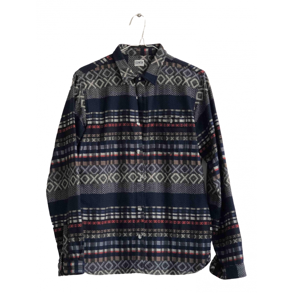 Edwin \N Cotton Shirts for Men S International