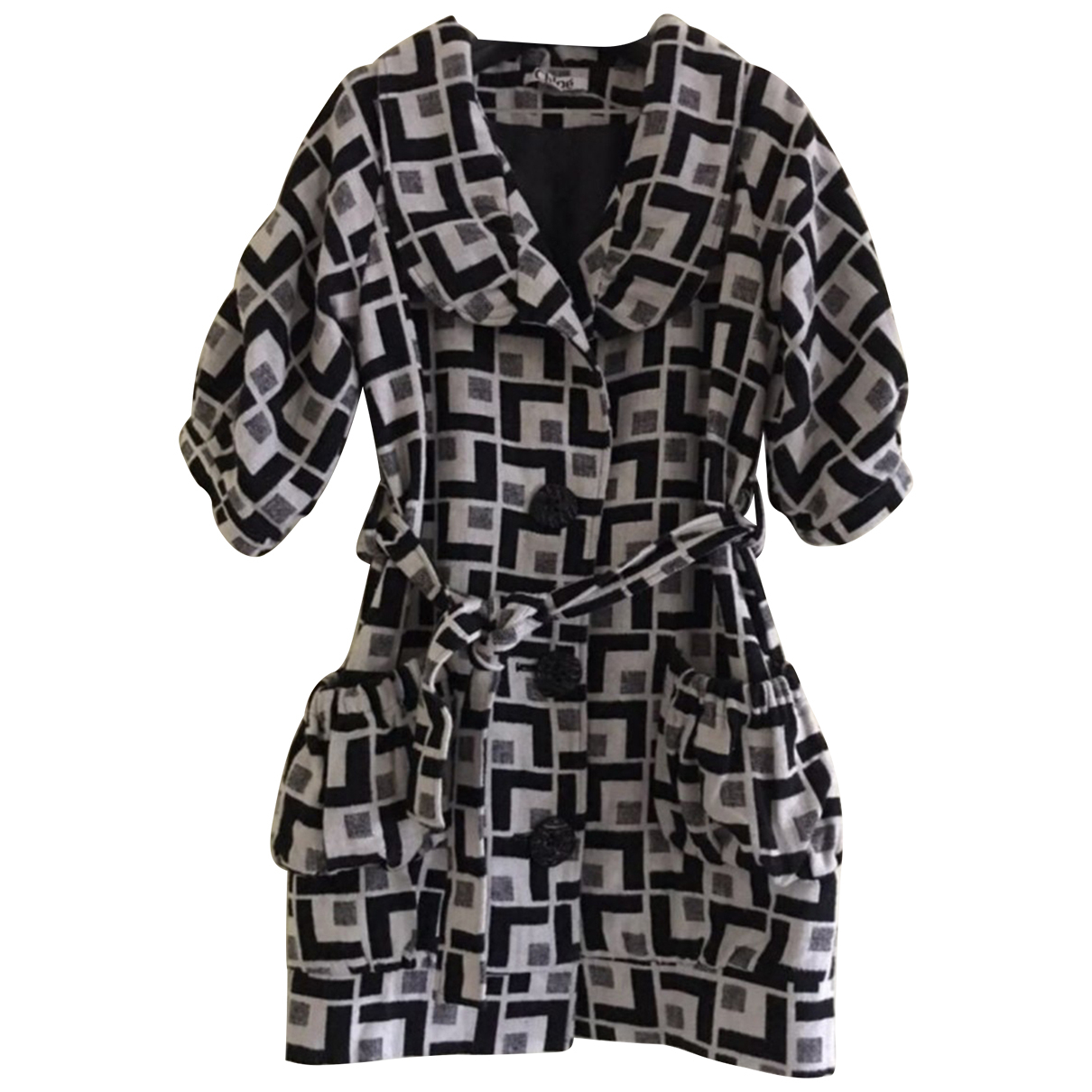 Chloé N Black Cotton jacket for Women 2 0-5