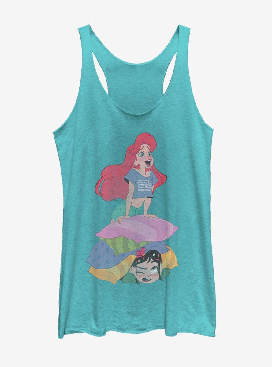 Disney Ralph Breaks the Internet Singing Ariel Womens Tank