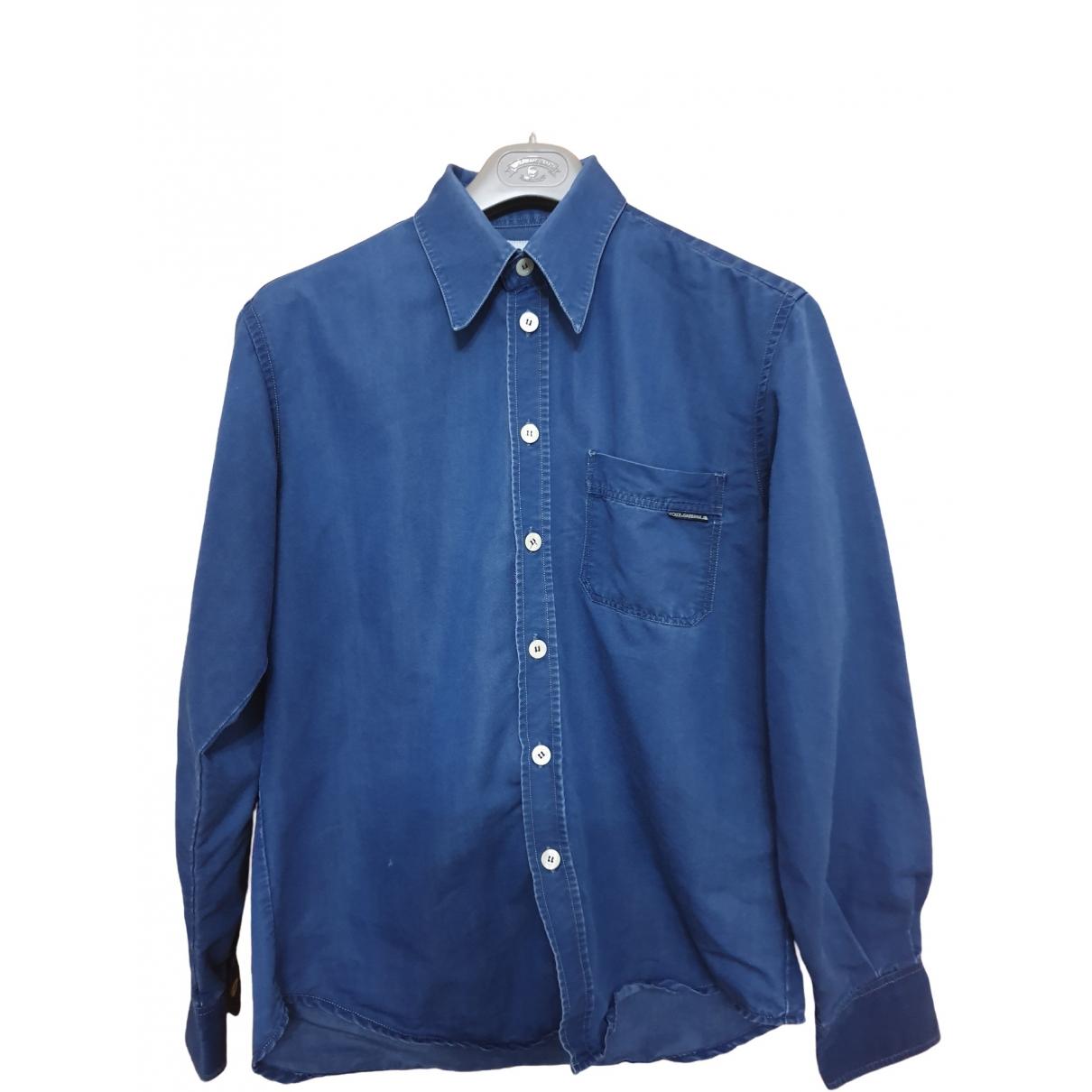 Dolce & Gabbana - Chemises   pour homme - bleu
