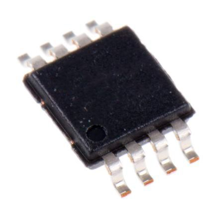 Analog Devices AD8675ARMZ , Precision, Op Amp, 10MHz 10 Hz, 8-Pin MSOP (50)
