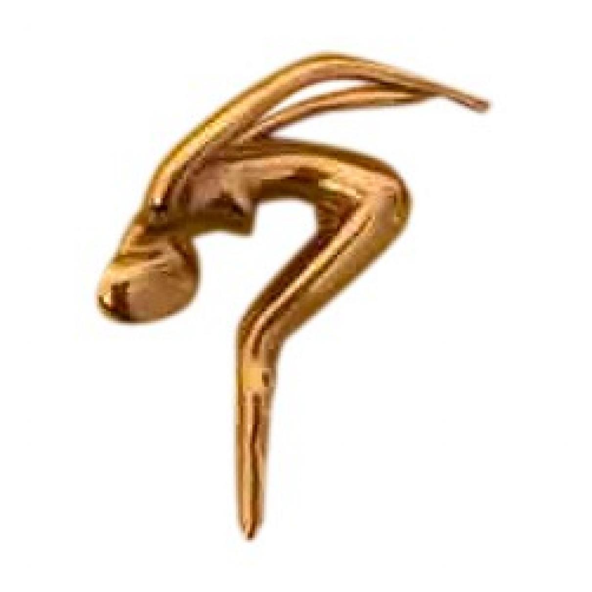 Charles Jourdan \N Anhaenger in  Gold Vergoldet