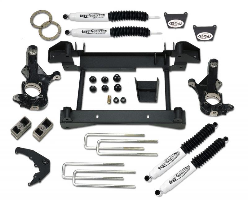 Tuff Country 14958KN Complete Kit (w/SX8000 Shocks)-4in. Chevrolet