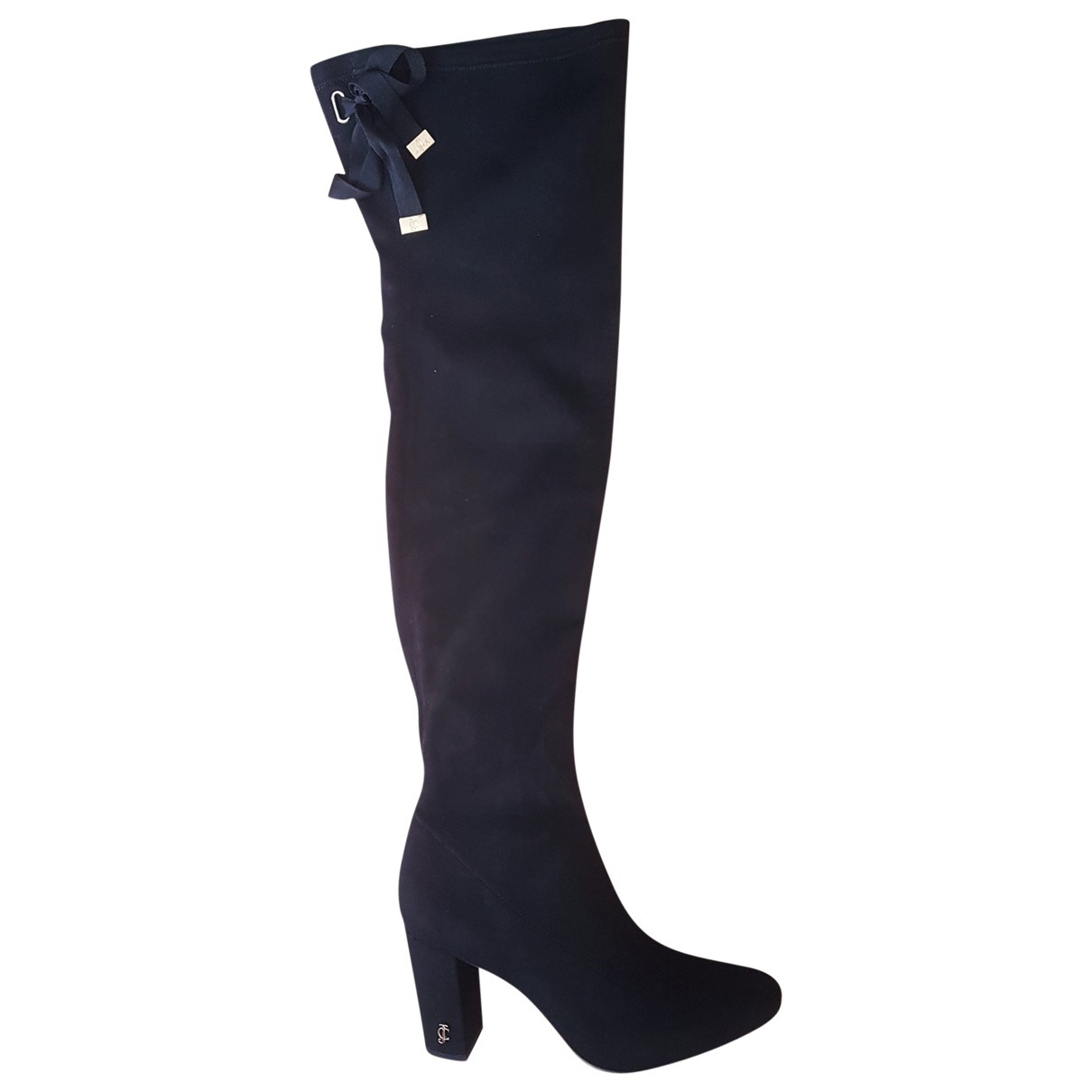 Juicy Couture \N Black Cloth Boots for Women 6 UK