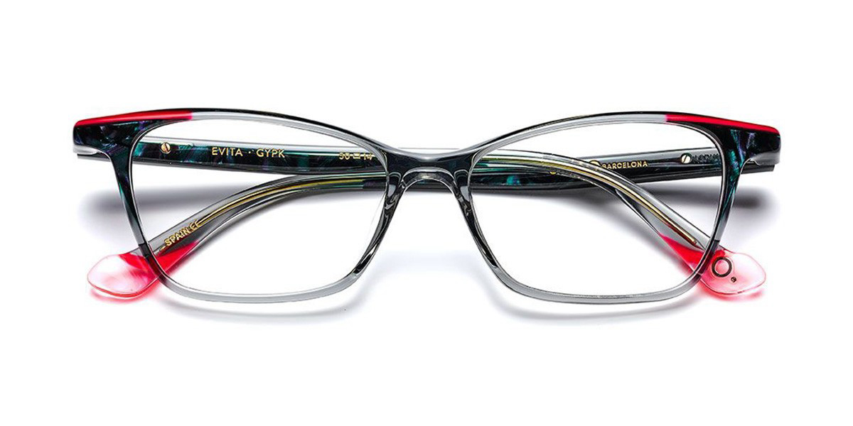 Etnia Barcelona Evita GYPK Women's Glasses Grey Size 50 - Free Lenses - HSA/FSA Insurance - Blue Light Block Available