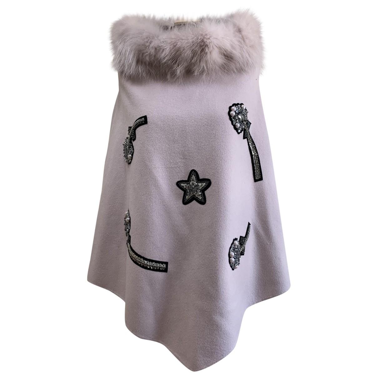 Caban Romantic - Manteau   pour femme en laine - rose