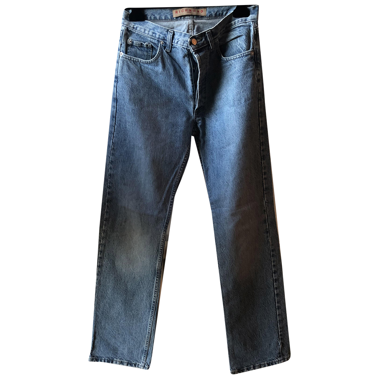 John Richmond N Navy Cotton Jeans for Men 30 US
