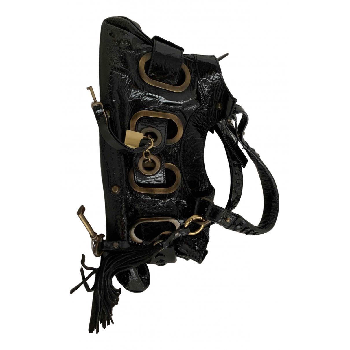 Barbara Bui N Black Patent leather handbag for Women N