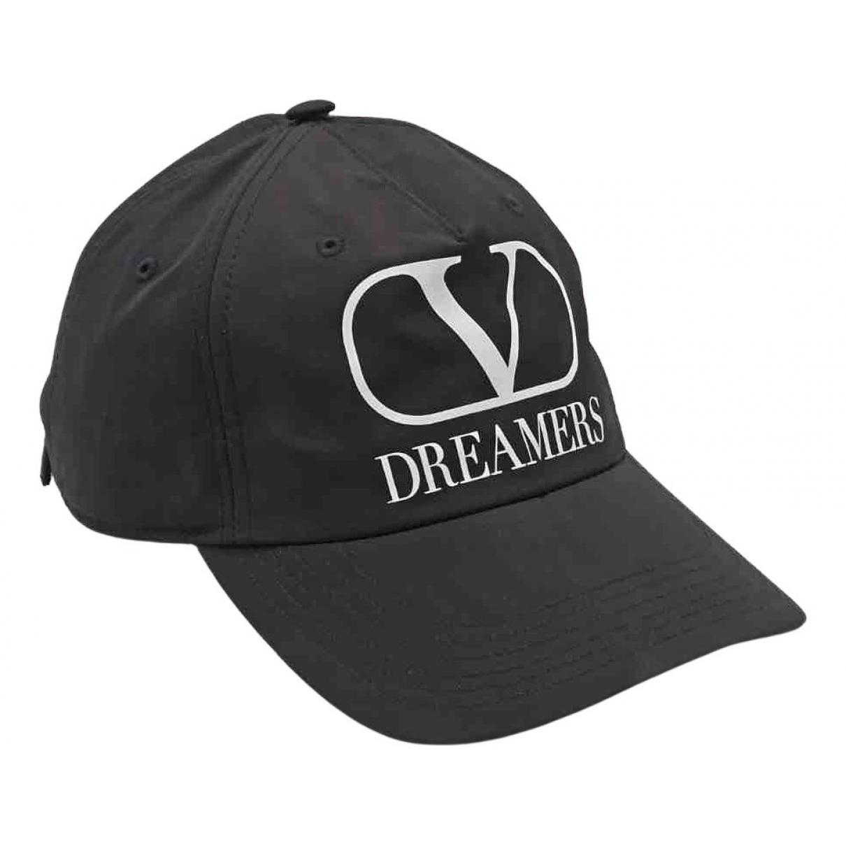 Valentino Garavani - Chapeau & Bonnets   pour homme en coton - noir