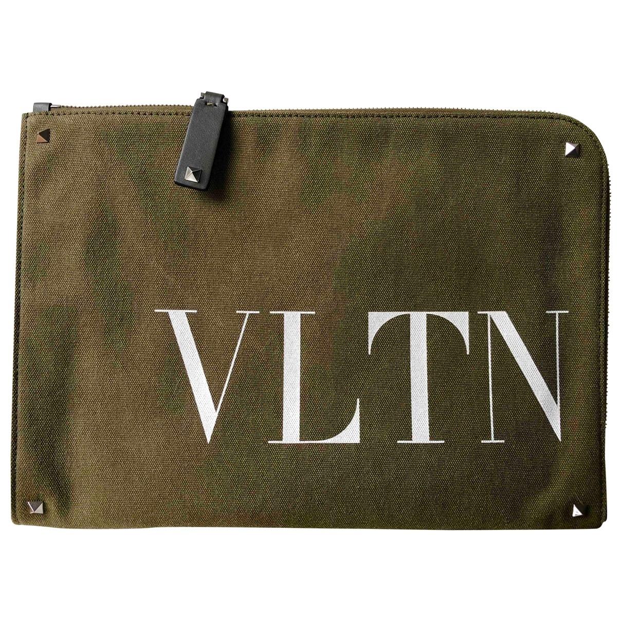 Valentino Garavani - Objets & Deco My Rockstud pour lifestyle en toile - kaki