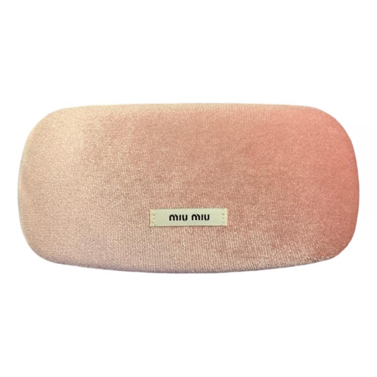 Miu Miu - Objets & Deco   pour lifestyle en velours - rose